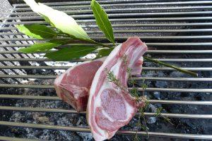 Grossiste en viande à Rungis - côtes d'agneau